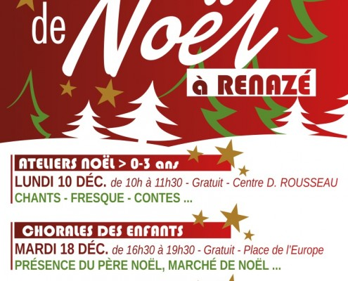 2018- Noel a Renaze affiche A3