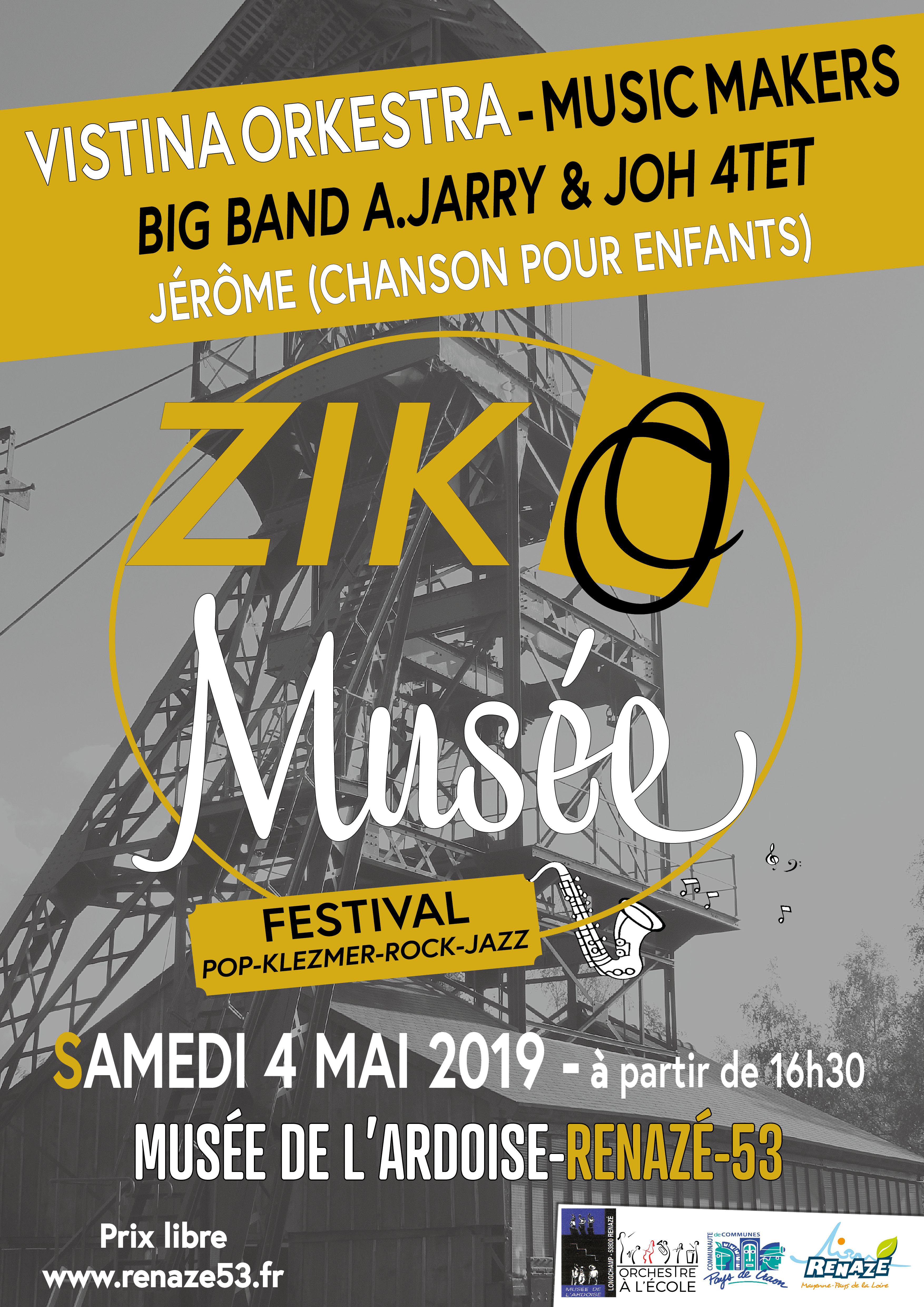 2019-05 affiche A3 zic o musee